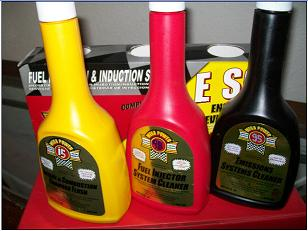 Mega Power Chemical Fuel Injector Cleaner and Engine Tune Up. Cleaning by tank or fuel rail and engine.