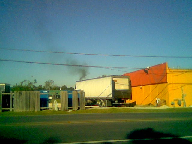 Mega Power Diesel Engine Treatment stops black smoke at idle - under load, when climbing hills.