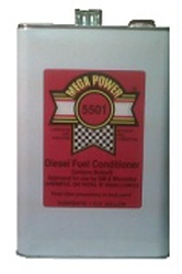 This gallon Tractor Engine Additive from Mega Power will clean your engine piston, ring, and valve parts to revitalize your older car truck performance. Fuel Treatment shown.