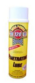 Mega Power #120 Multi-Purpose Spray Lube. Keep a few cans handy for anything stuck rusted tight, needs lube.