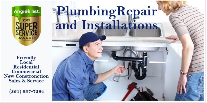 Call us for your Commercial Residential Plumbing Needs. We're up on the latest, certified for safety, and best quality products. James... Call me at 361 937-7284