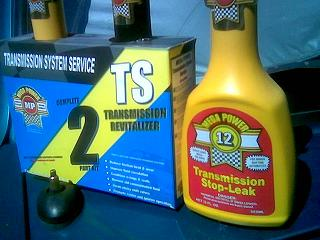 Transmission Slip Treatment Corrects Problem as You Drive. From Mega Power.