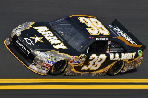 Army NASCAR Racing Car. Daytona 500.