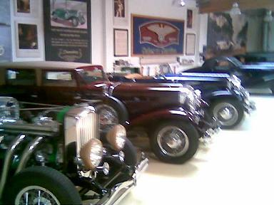 Car Club Forum: Jay Leno's 30's classic cars displayed I took a picture of. Classic Care Tip: Try Mega Power Additives: Keeps my classic cars running great and protected while in storage.