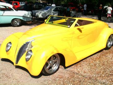 Beautiful Custom 36 Ford Convertible.  Classic Care Tip: Try Mega Power Additives: Keeps my classic cars running great and protected while in storage.