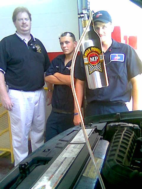 Training motor tune up techs the Mega Power Way